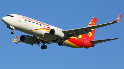 A picture of B5735 - Boeing 73784P - Hainan Airlines - © changshuo