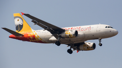 5H-FJF - Airbus A319-131 - Fastjet