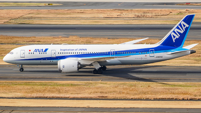 A picture of JA825A - Boeing 7878 Dreamliner - All Nippon Airways - © KEVIN LIN