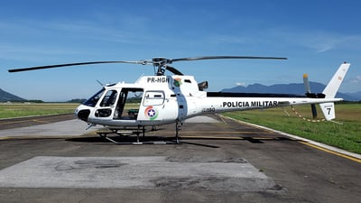 PR-HGH - Eurocopter AS 350B2 Ecureuil - Brazil - Military Police