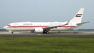 A6-AUH - Boeing 737-8EX(BBJ2) - United Arab Emirates - Abu Dhabi Amiri Flight