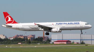 TC-JSA - Airbus A321-231 - Turkish Airlines
