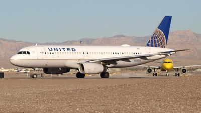 N455UA - Airbus A320-232 - United Airlines