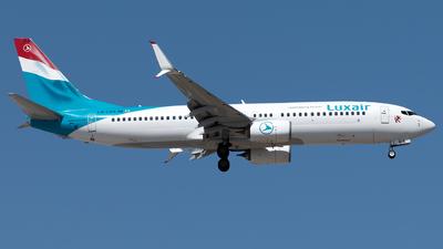 A picture of LXLBA - Boeing 7378C9 - Luxair - © Kuzey Alan