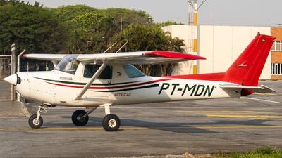 PT-MDN - Cessna 152 - Aero Club - Bragança Paulista