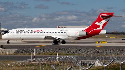 A picture of VHYQS - Boeing 7172BL - Qantas - © Josh Deitz