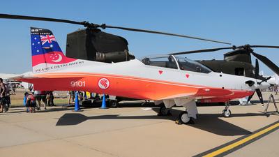 9101 - Pilatus PC-21 - Singapore - Air Force