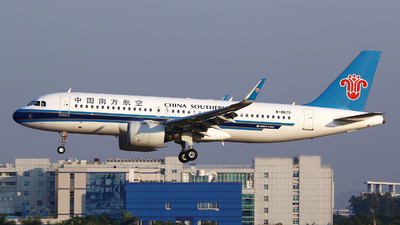 A picture of B8670 - Airbus A320271N - China Southern Airlines - © Zihao Wang ~ AHaoo
