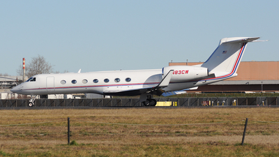 N83CW - Gulfstream G550 - Private