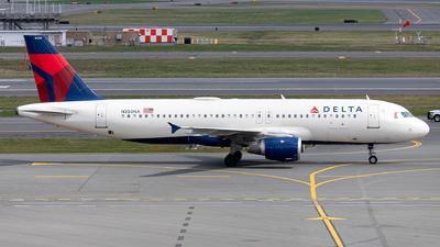 A picture of N350NA - Airbus A320212 - Delta Air Lines - © OCFLT_OMGcat