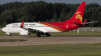 A picture of B5672 - Boeing 73787L - Kunming Airlines - © Amyritter-Lv
