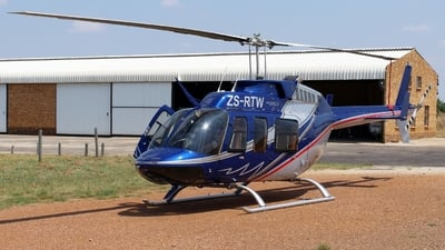 ZS-RTW - Bell 206L-4 LongRanger - Private