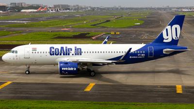 A picture of VTWGI - Airbus A320271N - Go Air - © Aneesh Bapaye