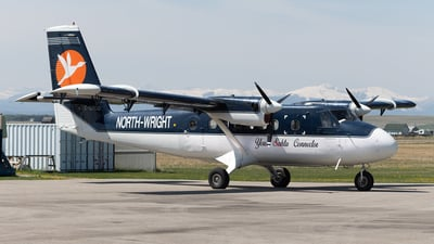 C-GRDD - De Havilland Canada DHC-6-100 Twin Otter - North-Wright Airways