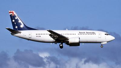 VH-CZM - Boeing 737-377 - Ansett.