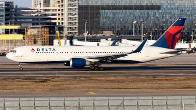 A picture of N16065 - Boeing 767332(ER) - Delta Air Lines - © xuxinyi1000