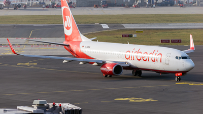 D-ABKN - Boeing 737-86J - Air Berlin