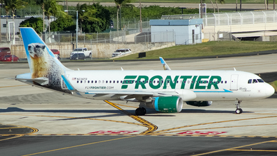 N236FR - Airbus A320-214 - Frontier Airlines