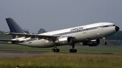 G-BMZL - Airbus A300B4-2C - Orion Airways