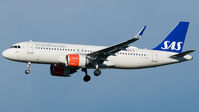 A picture of SEROD - Airbus A320251N - SAS - © Raoul Andries