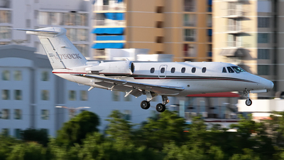 N750CK - Cessna 650 Citation VII - Private