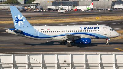 A picture of XAVER - Sukhoi Superjet 10095B - Interjet - © Ricardo Mungarro