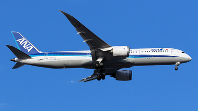A picture of JA880A - Boeing 7879 Dreamliner - All Nippon Airways - © TRAVAIR