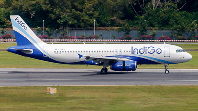 A picture of VTIEU - Airbus A320232 - IndiGo - © Tommy.L