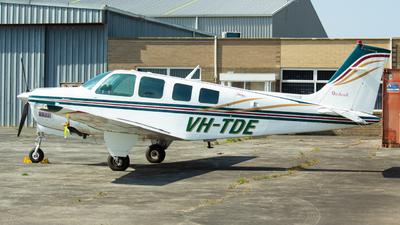A picture of VHTDE - Beech A36 Bonanza - [E2634] - © Tom_B_Spotter