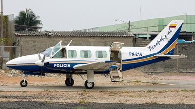 PN-216 - Piper PA-31-350 Chieftain - Ecuador - Police