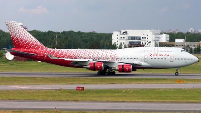 EI-XLF - Boeing 747-446 - Rossiya Airlines