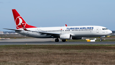 A picture of TCJHU - Boeing 7378F2 - Turkish Airlines - © Timo Duda