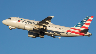 A picture of N747UW - Airbus A319112 - American Airlines - © Stephen J Stein