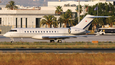 HB-JLC - Bombardier BD-700-1A10 Global 6000 - Nomad Aviation