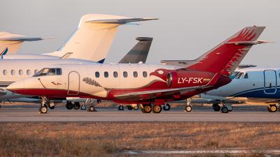 LY-FSK - Hawker Beechcraft 900XP - Aurela