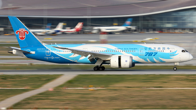 A picture of B2788 - Boeing 7878 Dreamliner - China Southern Airlines - © Xu Zijun