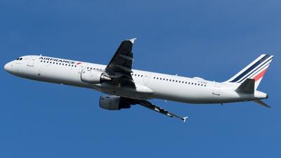 F-GTAX - Airbus A321-211 - Air France