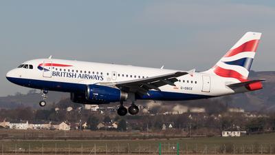 A picture of GDBCE - Airbus A319131 - British Airways - © Rolf Jonsen