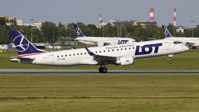 SP-LMA - Embraer 190-100STD - LOT Polish Airlines