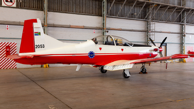 2053 - Pilatus PC-7 Mk.II - South Africa - Air Force