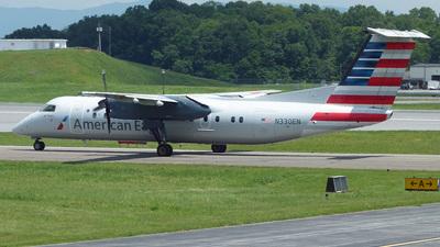 A picture of N330EN - De Havilland Canada Dash 8300 - [274] - © Mike Egan