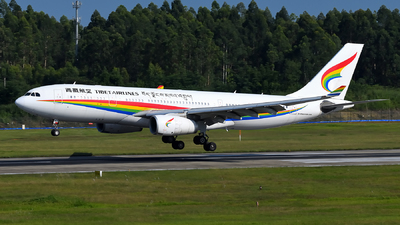 A picture of B1047 - Airbus A330243 - Tibet Airlines - © dxtrx