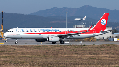 B-302S - Airbus A321-231 - Sichuan Airlines