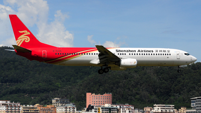 A picture of B5105 - Boeing 73797L - Shenzhen Airlines - © Jay Cheung