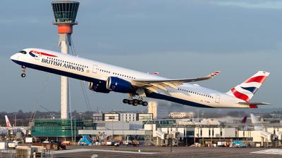 G-XWBB - Airbus A350-1041 - British Airways