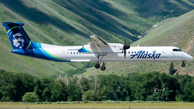 A picture of N436QX - De Havilland Canada Dash 8400 - Alaska Airlines - © Nathaniel Schott