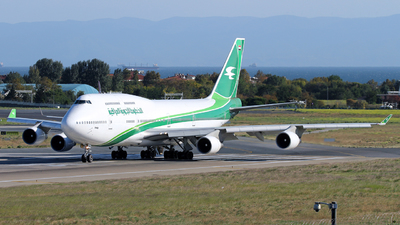 YI-ASA - Boeing 747-4H6 - Iraqi Airways