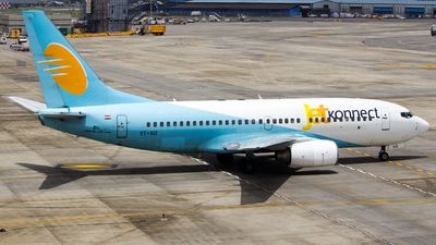 VT-SIZ - Boeing 737-7BK - Jet Konnect