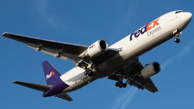 A picture of N156FE - Boeing 7673S2F(ER) - FedEx - © N. Goodman