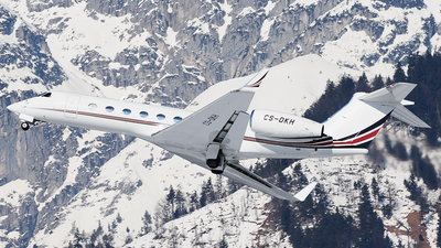 A picture of CSDKH - Gulfstream G550 - [5150] - © Elisabetta Puggioni